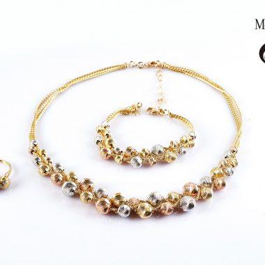 bộ trang sức vàng ý by-170012 trang sức vàng ý hải phòng trang sức cao cấp trang sức vàng tây