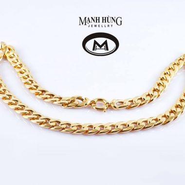 dây chuyền nam vàng tây nm-170001
