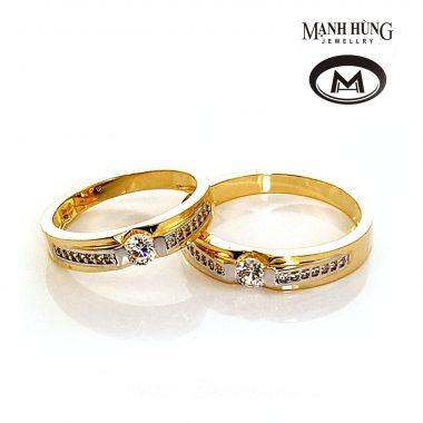 Nhẫn cưới vàng tây đẹp