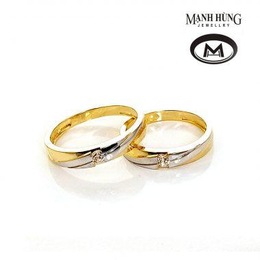 Nhẫn cưới vàng tây đẹp cao cấp