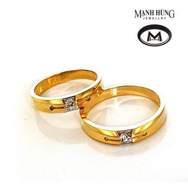 Nhẫn cưới vàng ý đẹp nhập khẩu