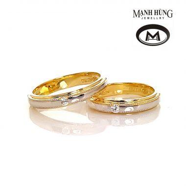 Nhẫn cưới Italia sang trọng