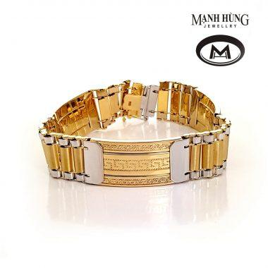 Vòng tay vàng Ý thiết kế sang trọng WH031906