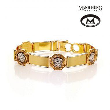 Vòng tay vàng Ý Versace WH031907