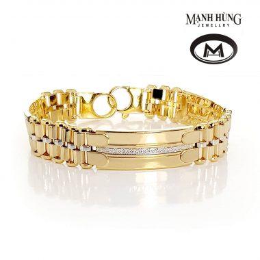 Vòng tay vàng tây thanh lịch WH031909