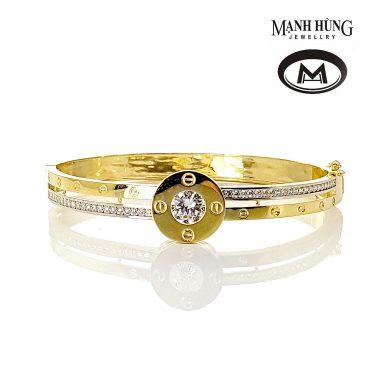 Vòng tay vàng Ý Cartier WH031904