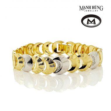 Lắc tay nữ thanh lịch vàng Ý BL031903