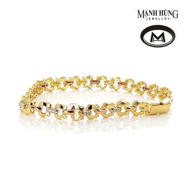 Lắc tay vàng tây tinh tế BL031907