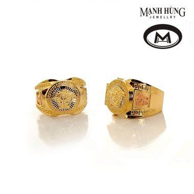 Nhẫn nam vàng ITALY cao cấp MR070919