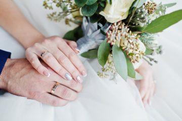 nhẫn cưới vàng tây 18k