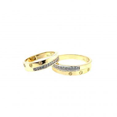 Nhẫn cưới vàng Italy nhập khẩu