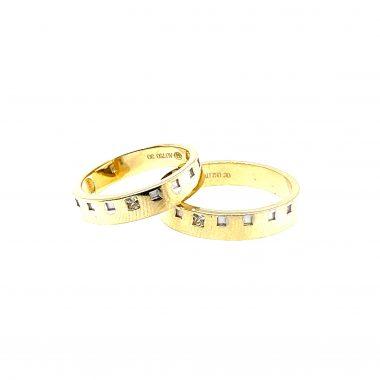 Nhẫn cưới vàng tây đẹp sang trọng