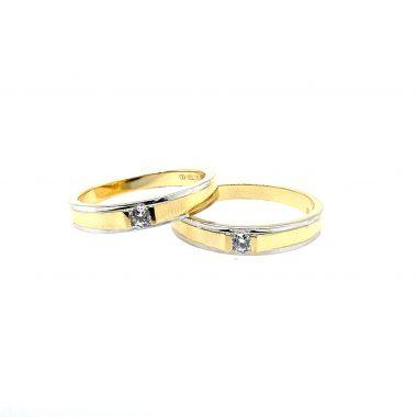 Nhẫn cưới vàng Ý 750 cao cấp